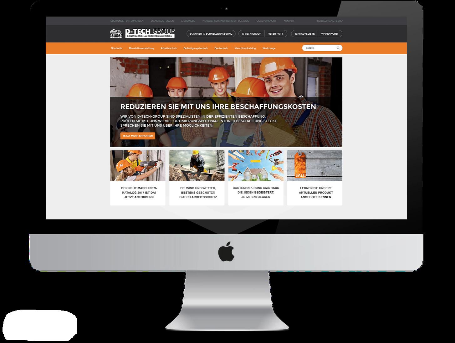 Branchenlösung in der Praxis: IntelliShop_ConstructionIndustries