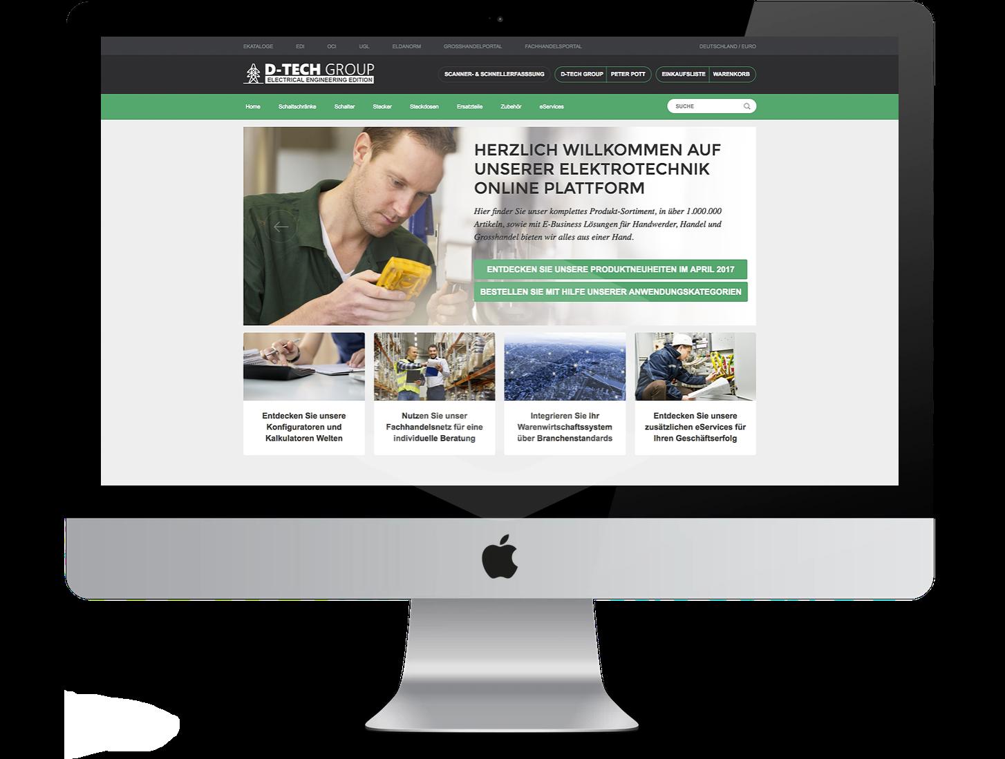 Branchenlösung in der Praxis: IntelliShop_Eletronics&Electrical