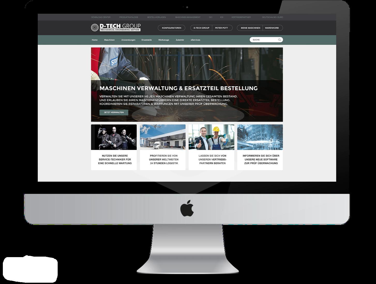 Branchenlösung in der Praxis: IntelliShop_Industry&Mechanical