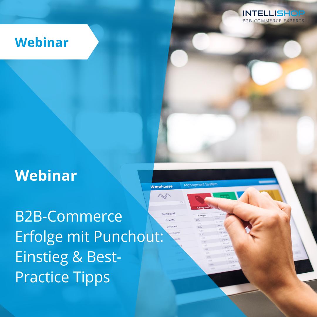 Webinar: B2B-Commerce Erfolge mit Punchout: Einstieg & Best-Practice Tipps