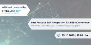 IntelliShop Webinar - SAP-Integration für B2B eCommerce