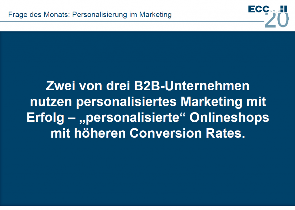 Personalisiertes B2B-Marketing