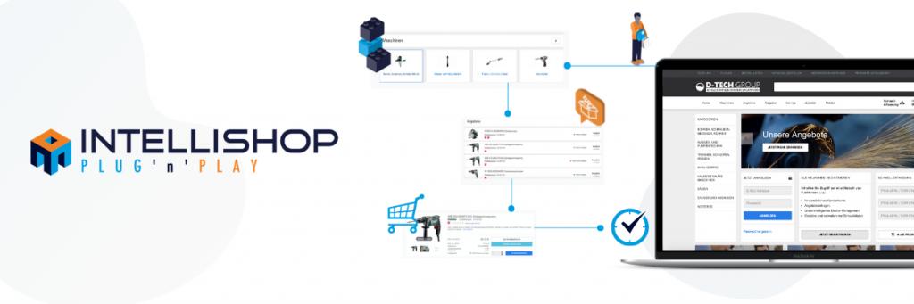 IntelliShop Plug'n'Play Commerce Plattform Aufbau