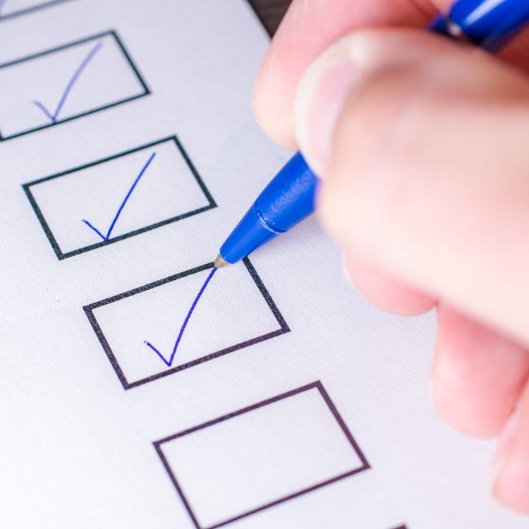 Checkliste für E-Commerce-Projekt