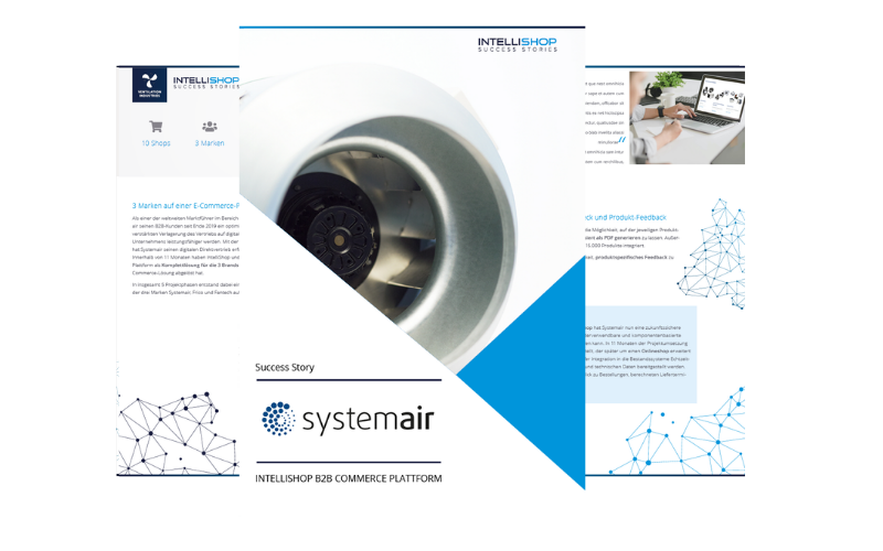 Mehrseitige Ansicht Systemair Success Story E-Commerce
