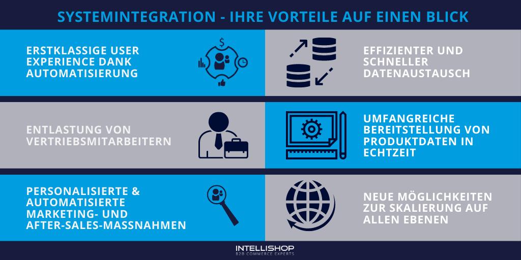 Vorteile von Systemintegration im E-Commerce