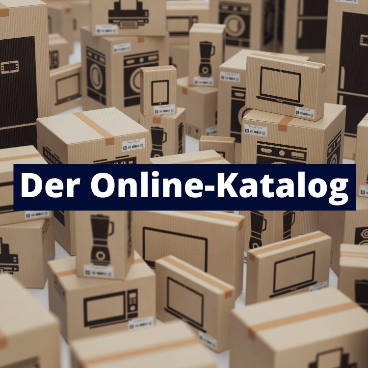 E-Commerce mit Online-Katalog