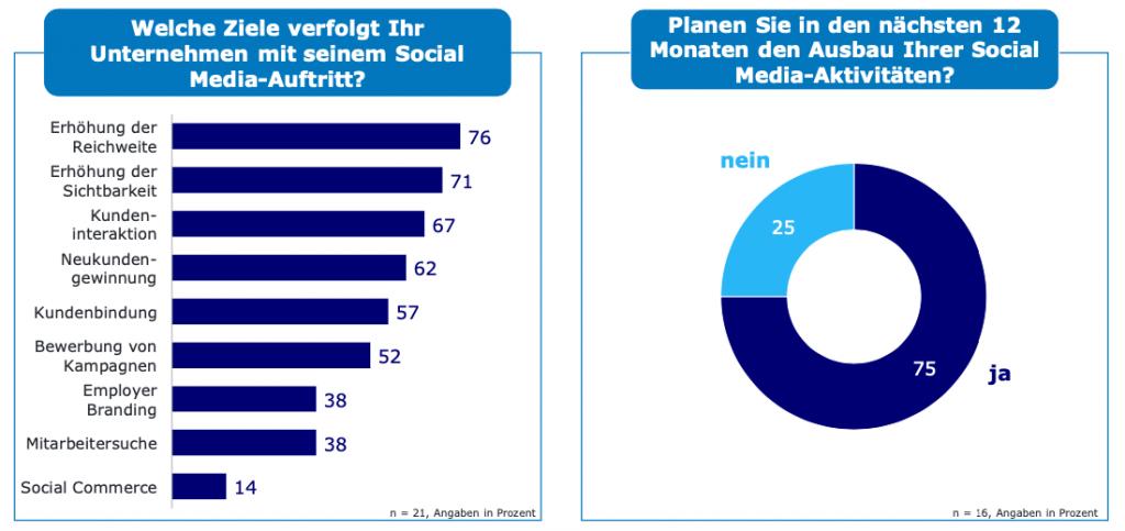 B2B E-Commerce Konjunkturindex Social Media