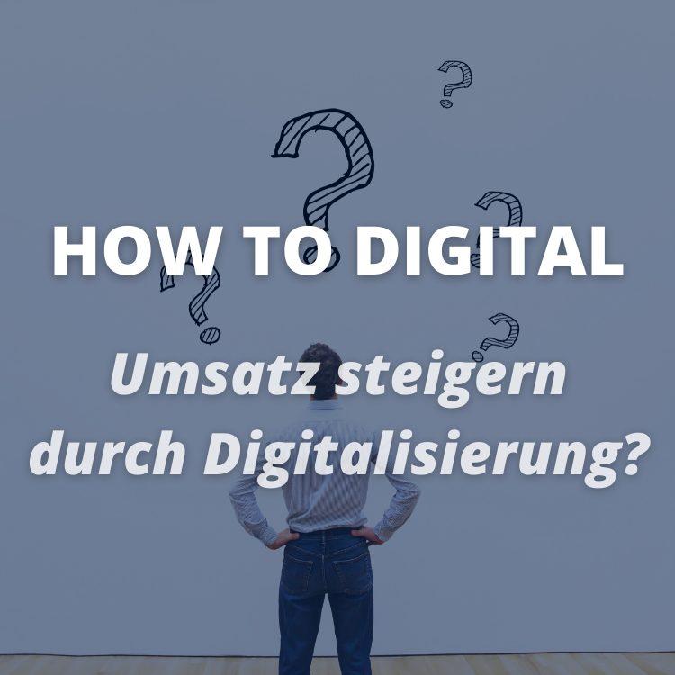 Fragen zur Digitalisierung im Vertrieb